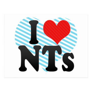 I Love NTs Postcard