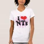 I Love NTs Tshirt