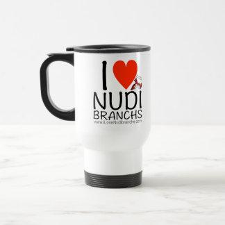 I Love Nudibranchs Stainless Steel 15 oz Mug