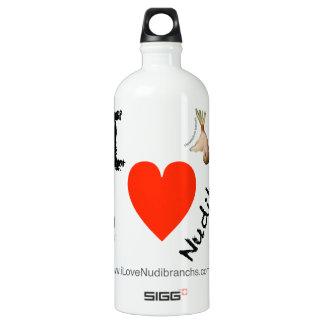 I Love Nudibranchs White SIGG 1.0L Water Bottle