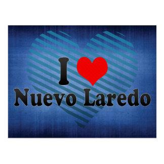 I Love Nuevo Laredo, Mexico Postcard