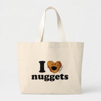 I love nuggets tote bag