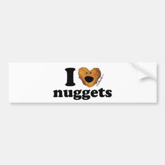 I love nuggets bumper stickers