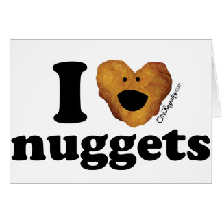 I love nuggets card