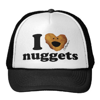 I love nuggets trucker hat
