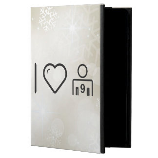 I Love Number Nines Case For iPad Air