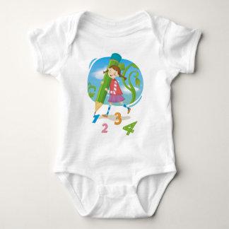I Love Numbers Infant Creeper