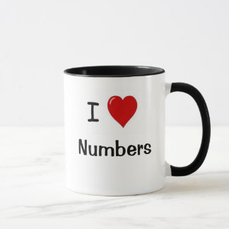 I Love Numbers - Rude Reasons Why Mug
