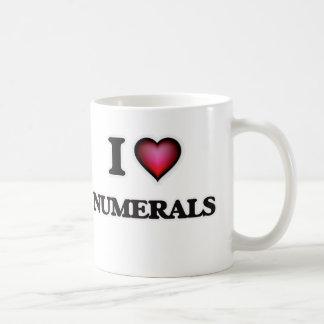 I Love Numerals Coffee Mug