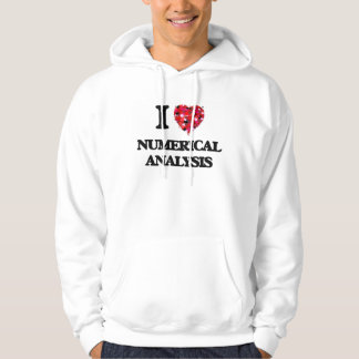 I Love Numerical Analysis Pullover