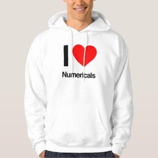 i love numericals hoodie