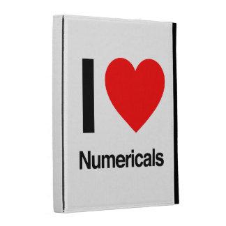 i love numericals iPad folio case