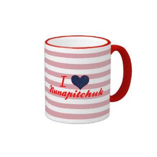 I Love Nunapitchuk, Alaska Mug