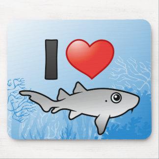 I Love Nurse Sharks Mouse Pad