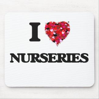 I Love Nurseries Mouse Pad
