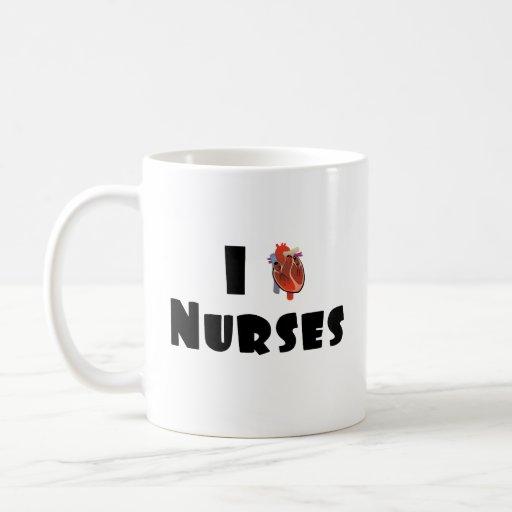 I love nurses mugs