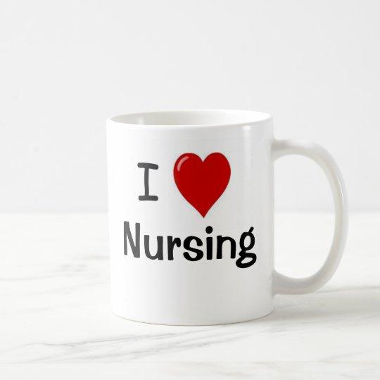 I Love Nursing - I Heart Nursing - Double Sided Coffee Mug