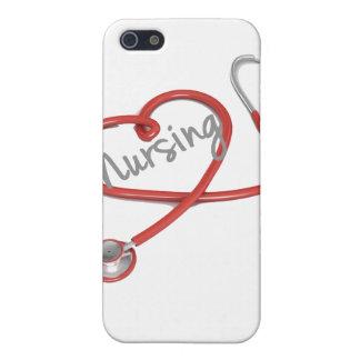 I Love Nursing iPhone Case
