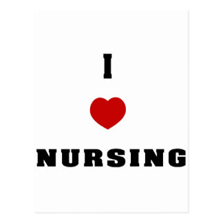 I Love Nursing Post Card