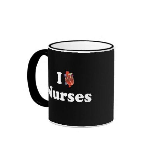 I love nursing ringer mug