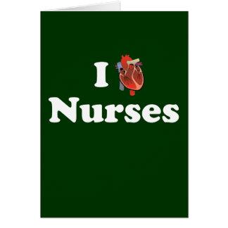 I love nursing stationery note card