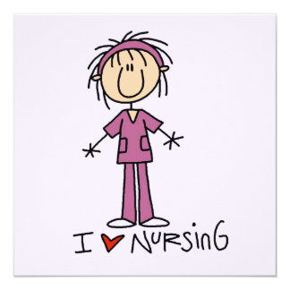 I Love Nursing T-shirts and Gifts Card