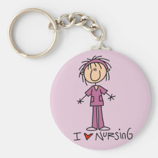 I Love Nursing Tshirts and Gifts Key Chains