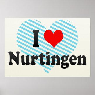 I Love Nurtingen, Germany Poster