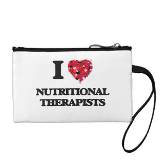 I love Nutritional Therapists Change Purse