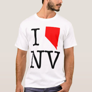 I Love NV Nevada T-Shirt