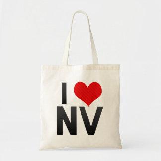 I Love NV Tote Bag