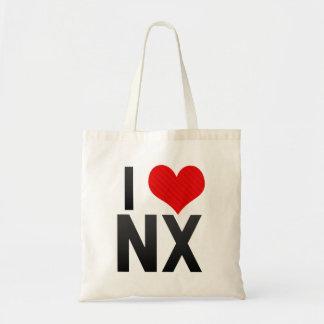 I Love NX Tote Bag