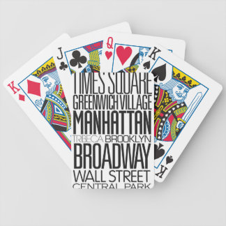 I Love NY Bicycle Playing Cards