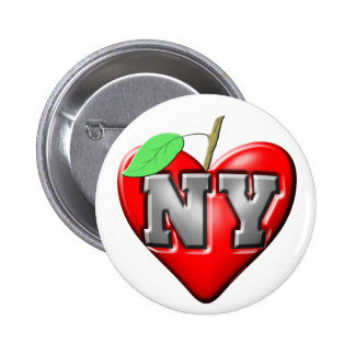 I Love NY Pinback Buttons