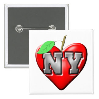 I Love NY Buttons