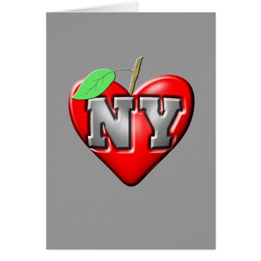I Love NY Card