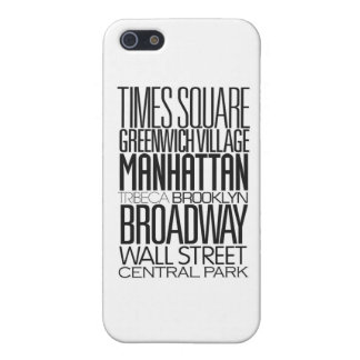 I Love NY Case For iPhone SE/5/5s