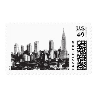 I Love NY D by Ceci New York Postage