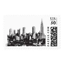 I Love NY D by Ceci New York Postage