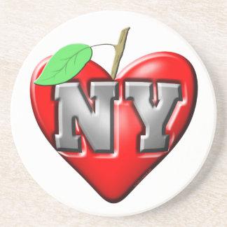 I Love NY Drink Coaster