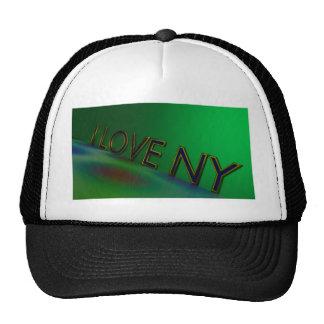 I Love Ny Mesh Hat