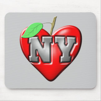 I Love NY Mouse Pads
