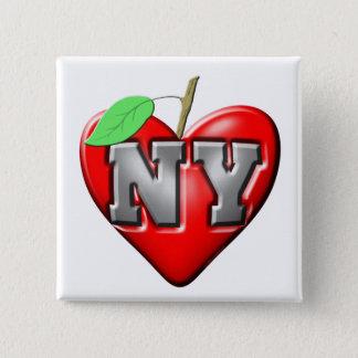 I Love NY Pinback Button
