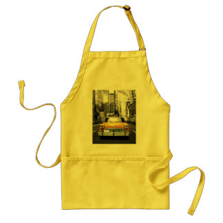 I Love NYC - New York Taxi Adult Apron