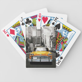 I Love NYC - New York Taxi Bicycle Playing Cards