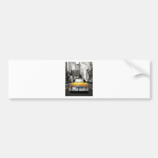 I Love NYC - New York Taxi Car Bumper Sticker