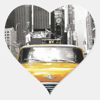 I Love NYC - New York Taxi Heart Sticker
