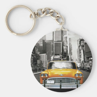 I Love NYC - New York Taxi Keychain