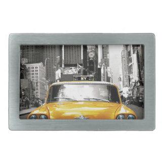 I Love NYC - New York Taxi Rectangular Belt Buckles