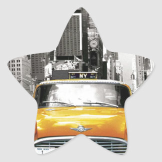 I Love NYC - New York Taxi Star Sticker